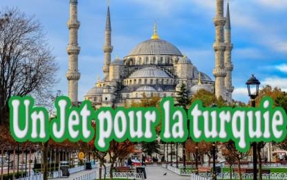 Un jet pour la Turquie