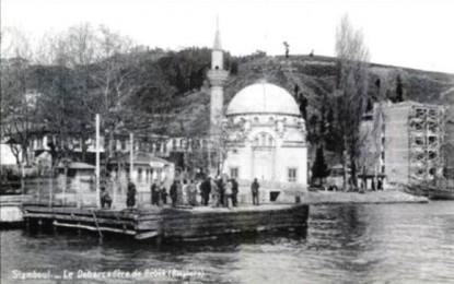 Avant-après-en peinture, la mosquée de Bebek