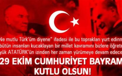 29 octobre, la République de Turquie fête ses 91 ans