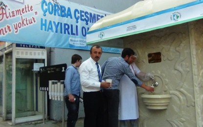 Fontaines à soupe de la ville d'Izmit pour ventres bien chauds
